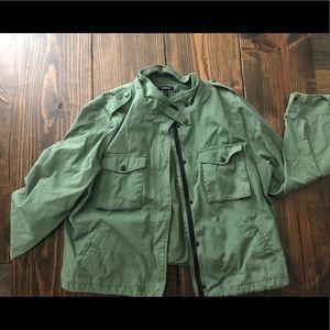 Torrid Jacket size 3 Sage Color (light green)